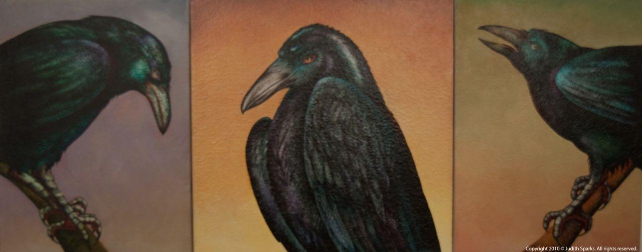 Crow Triptych III