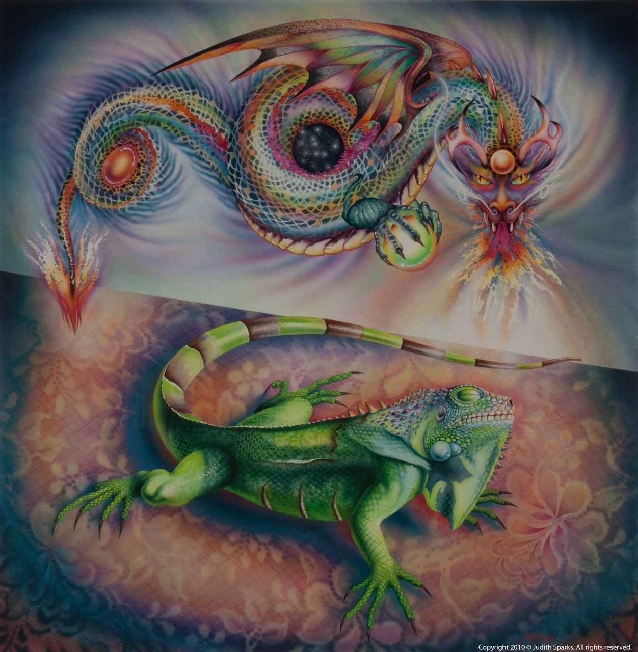 Iguana's Dream I